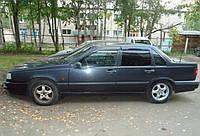 Дефлекторы окон (ветровики) Volvo 850 Sd 1991-1997 (Вольво 850) Cobra Tuning