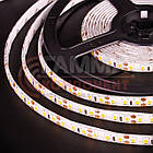 Светодиодная лента SMD 2835 (120 LED/м), теплый белый, IP65, 12В - бобины от 5 метров, фото 3