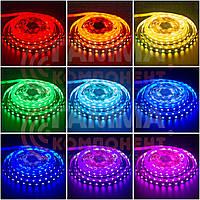 Светодиодная лента RGB SMD 5050 (30 LED/м), IP65, 12В - бобины от 5 метров