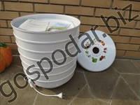 Сушка для продуктов ВЕТЕРОК-2 (600 Вт, на 6 лотков), самая надежная из предлагаемых сушилок