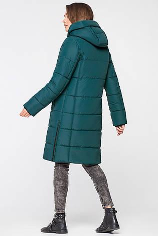 Батальная женская зимняя куртка VS MT-191 темный изумруд (#SIN5), фото 2