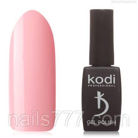 Гель лак Kodi  №70M,  светлый персиково-розовый