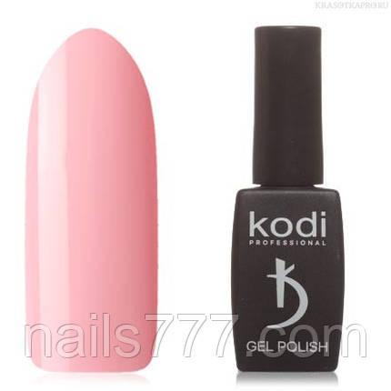 Гель лак Kodi  №70M,  светлый персиково-розовый, фото 2