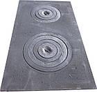 Плита чугунная печная с комфорками ПД-3 (710 х 410 мм.), фото 4