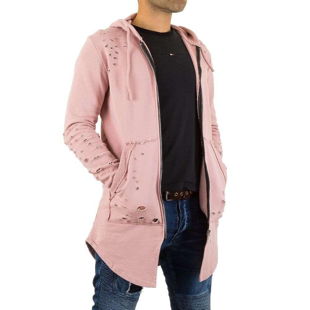 Толстовка мужская рваная Uniplay (Европа), Розовый