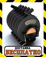 Канадская печь булерьян Тип-03 С QUEBEC Новаслав (с стеклом) - 600 м³