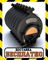 Канадская печь булерьян Тип-04 С TORONTO Новаслав (с стеклом) - 1000 м³