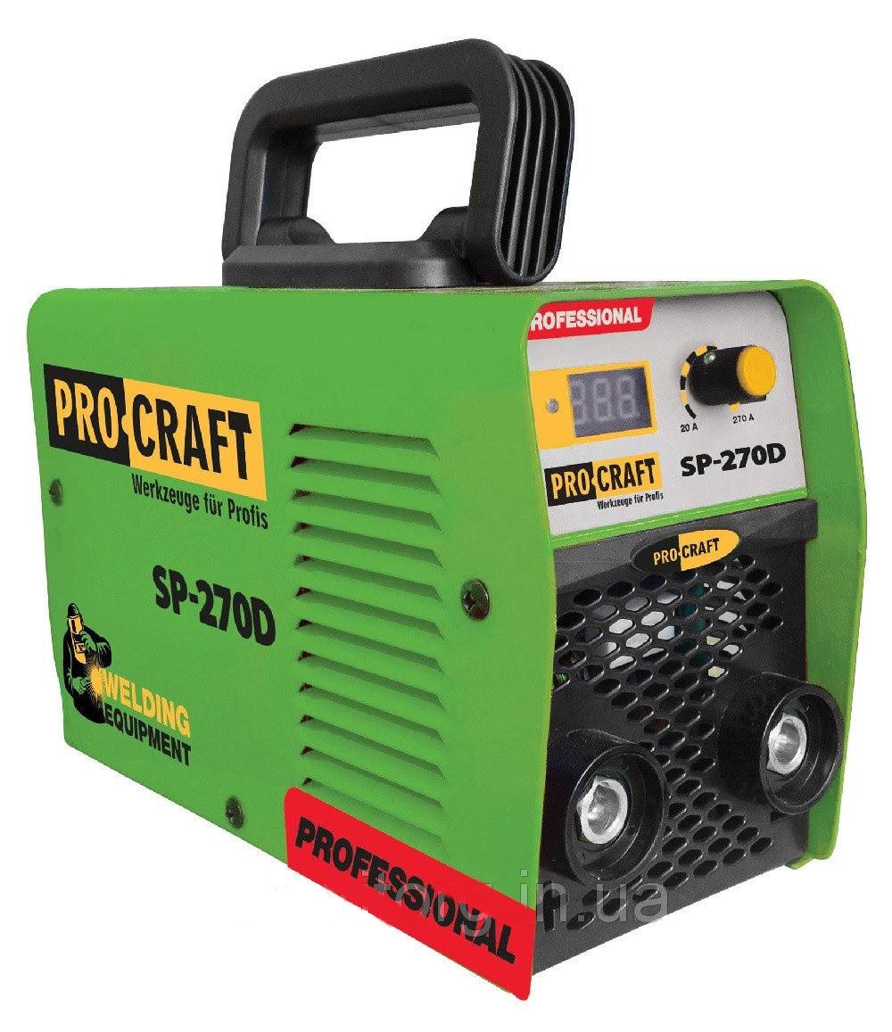 Инверторный сварочный аппарат ProCraft SP-270D. Сварочный аппарат ПроКрафт