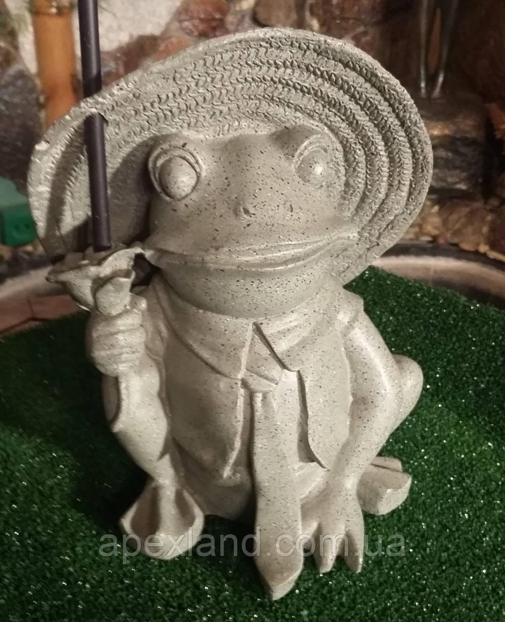 Декор для сада и дома Лягушка с подсвечником