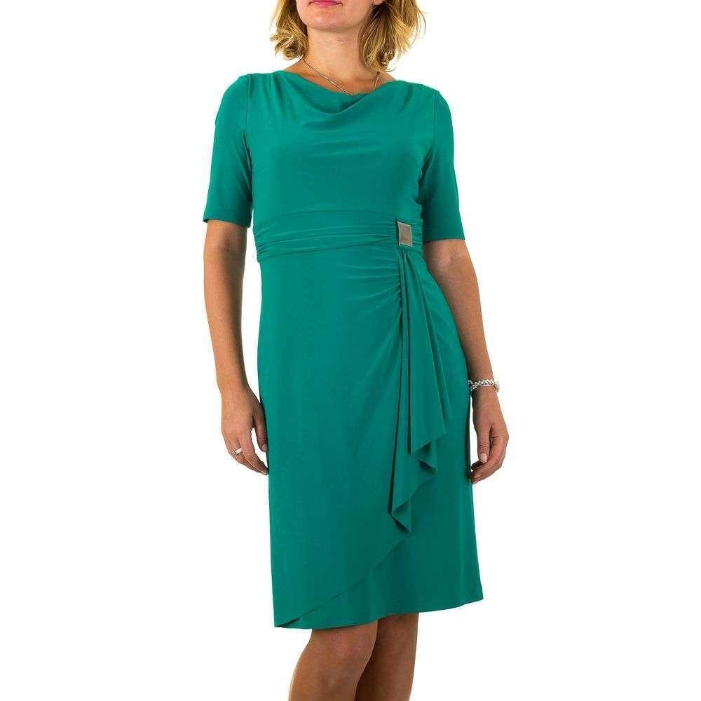Женское платье от Vera Mont - petrol - Мкл-VM4835-petrol