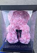 ТОП - ПОДАРОК НА 8 МАРТА! Медведь из роз в коробке!