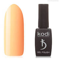 Гель лак Kodi  №80BR, яркий персиково-розовый