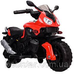 Электромобиль-мотоцикл красный T-7219/1 RED мотор 1*20W аккумулятор 6V4,5AH деткам 2-4 года