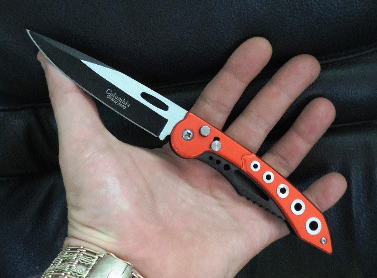Нож выкидной Columbia 822. Автоматический классический нож.