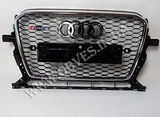 Решітка радіатора Audi Q5 2012-2015 стиль RSQ5