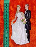 Свадебная фигурка для свадебного торта 13 см (9)