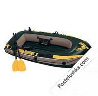Надувная лодка Seahawk 2 Intex 68347 (236х114x41 см.)