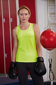 Спортивна жіноча майка 61-418-0