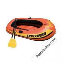 Детская надувная лодка Explorer 200 Intex 58331