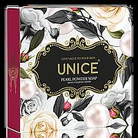 Натуральное мыло с жемчужной пудрой против старения кожи 100 г UNICE
