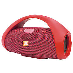 ✓Музыкальная колонка BL JBL Boombox mini Red функция bluetooth AUX портативная громкая связь USB динамики 10Вт