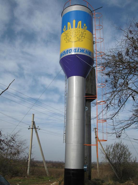 Водонапорная башня, доставка, мотнаж, демонтаж 7