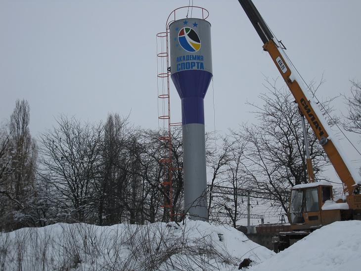 Водонапорная башня, доставка, мотнаж, демонтаж 8