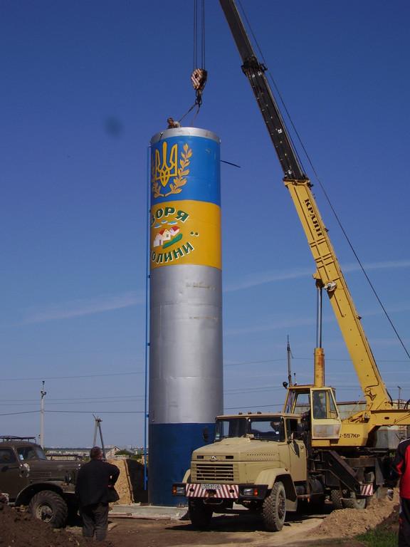 Водонапорная башня, доставка, мотнаж, демонтаж 10