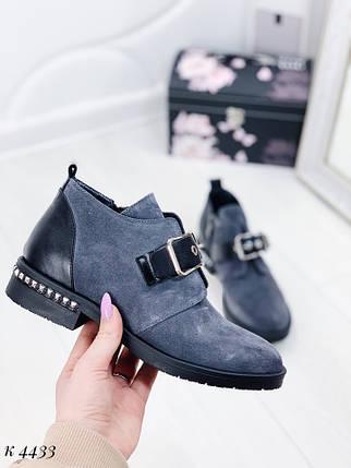 Ботинки замшевые, фото 2