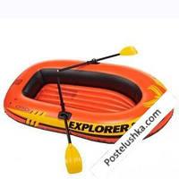 Детская надувная лодка Explorer 300 Intex 58332