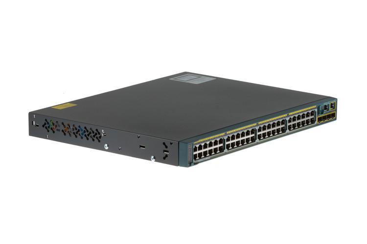 Коммутатор Cisco Catalyst 2960S-48FPS-L (WS-C2960S-48FPS-L), фото 1