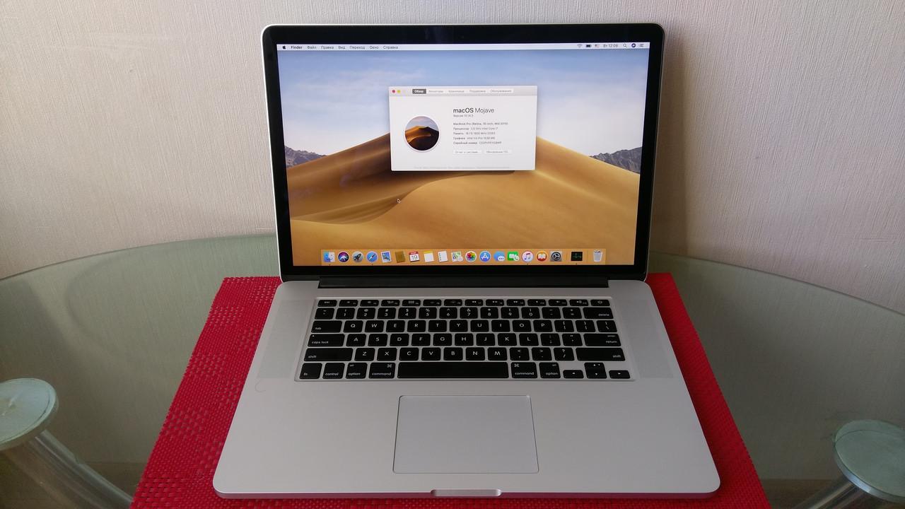 MacBook Pro Retina А1398 Mid 2015 16Gb AMD Radeon R9 M370X - Bigl ua