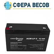 Аккумулятор AGM LogicPower LP 6-12 AH