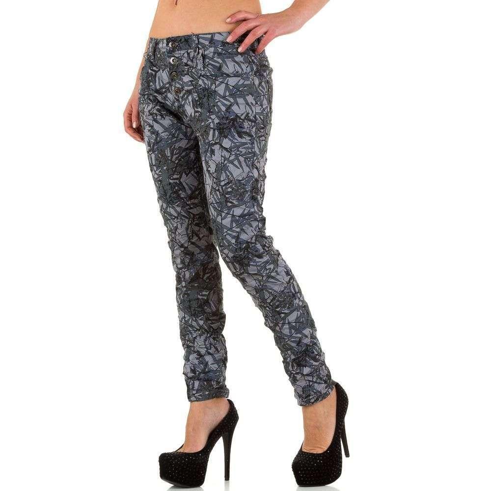 Женские джинсы от Place Du Jour - серый - KL-J-90089-F25-серый