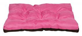 "Trixie Лежак ""Gary""  70х50см, розовый/кофейный."