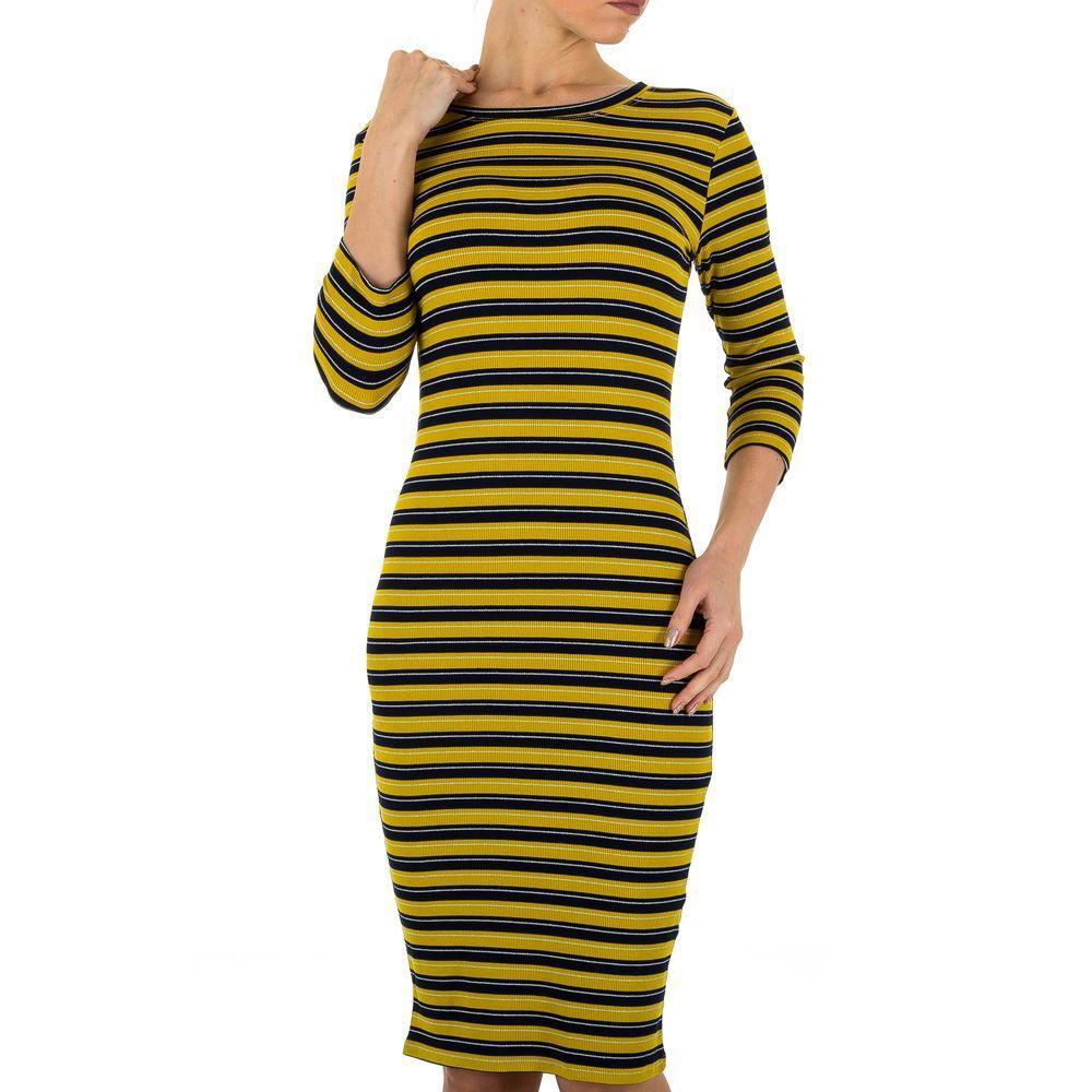 Женское платье, размер S - jaune - KL-JW680-jaune S