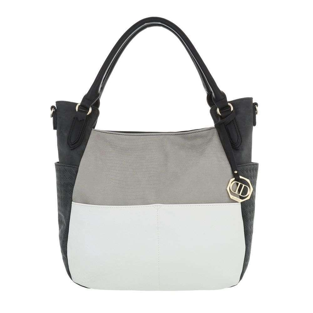 Женская наплечная сумка-черный - ТА-1735-66-черный