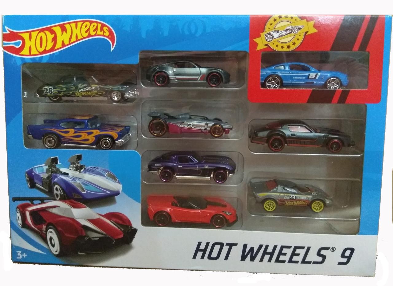 Хот Вилс Набор из 9 машинок Hot Wheels 9 Car Pack