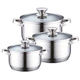Наборы кухонной посуды, кастрюли