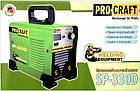 Инверторный сварочный аппарат ProCraft SP-330D. Сварочный аппарат ПроКрафт, фото 4
