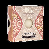 Натуральное мыло с экстрактом календулы противовоспалительное 125 г THALIA