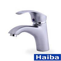 Смесители для раковин Haiba Mars 001 Satin