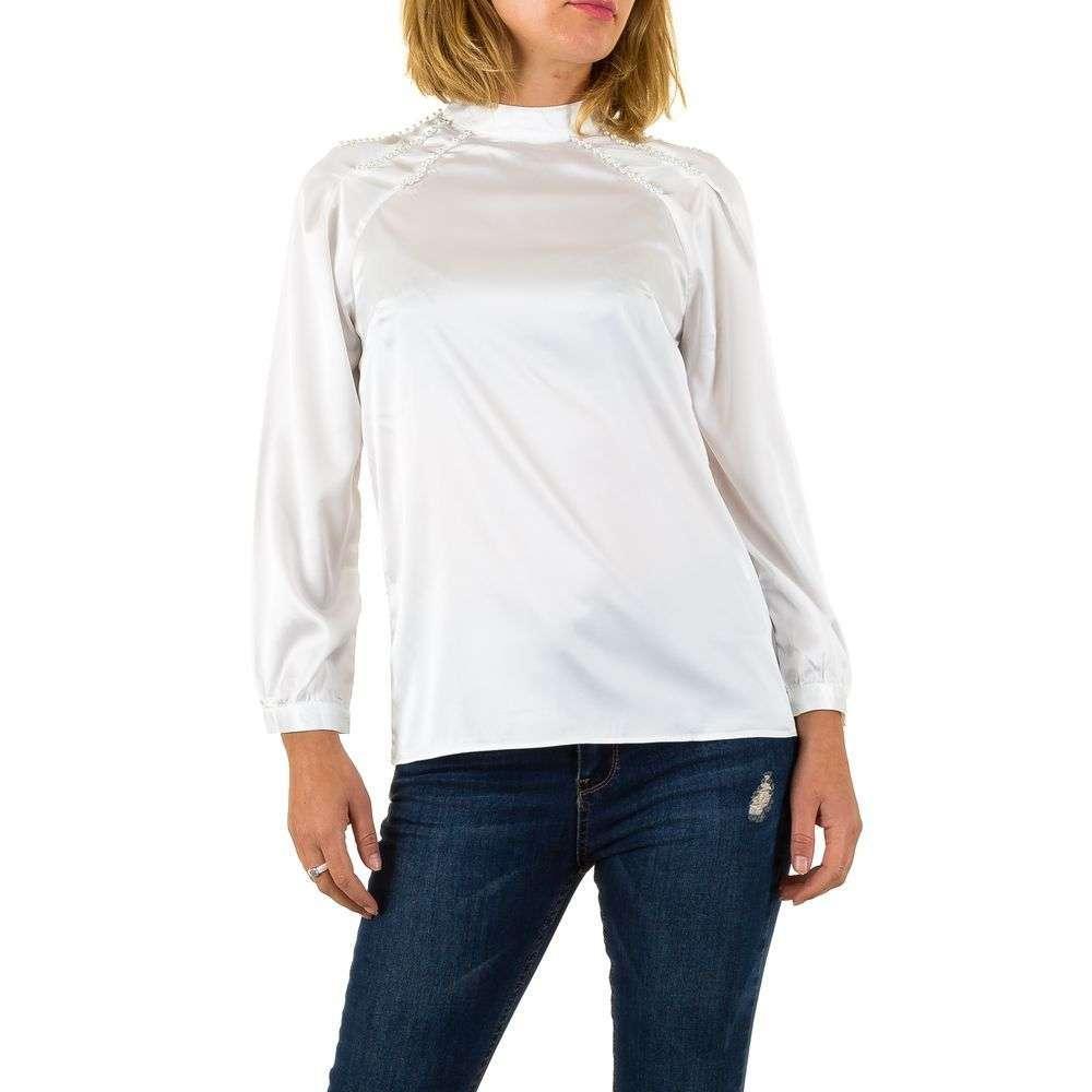 Женские блузки - белая - KL-L585-белый