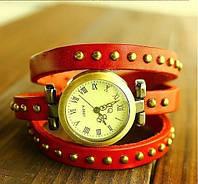 Женские наручные часы браслет JQ вишневые