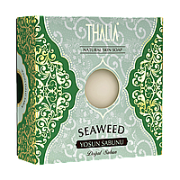 Натуральное мыло с экстрактом водорослей освежающее 125 г  THALIA