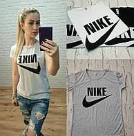 Футболка женская Nike Турция серая р. S-M универсальный, фото 1