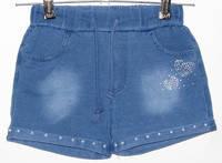 Шорти джинсові для дівчаток. Grace. р.134-164
