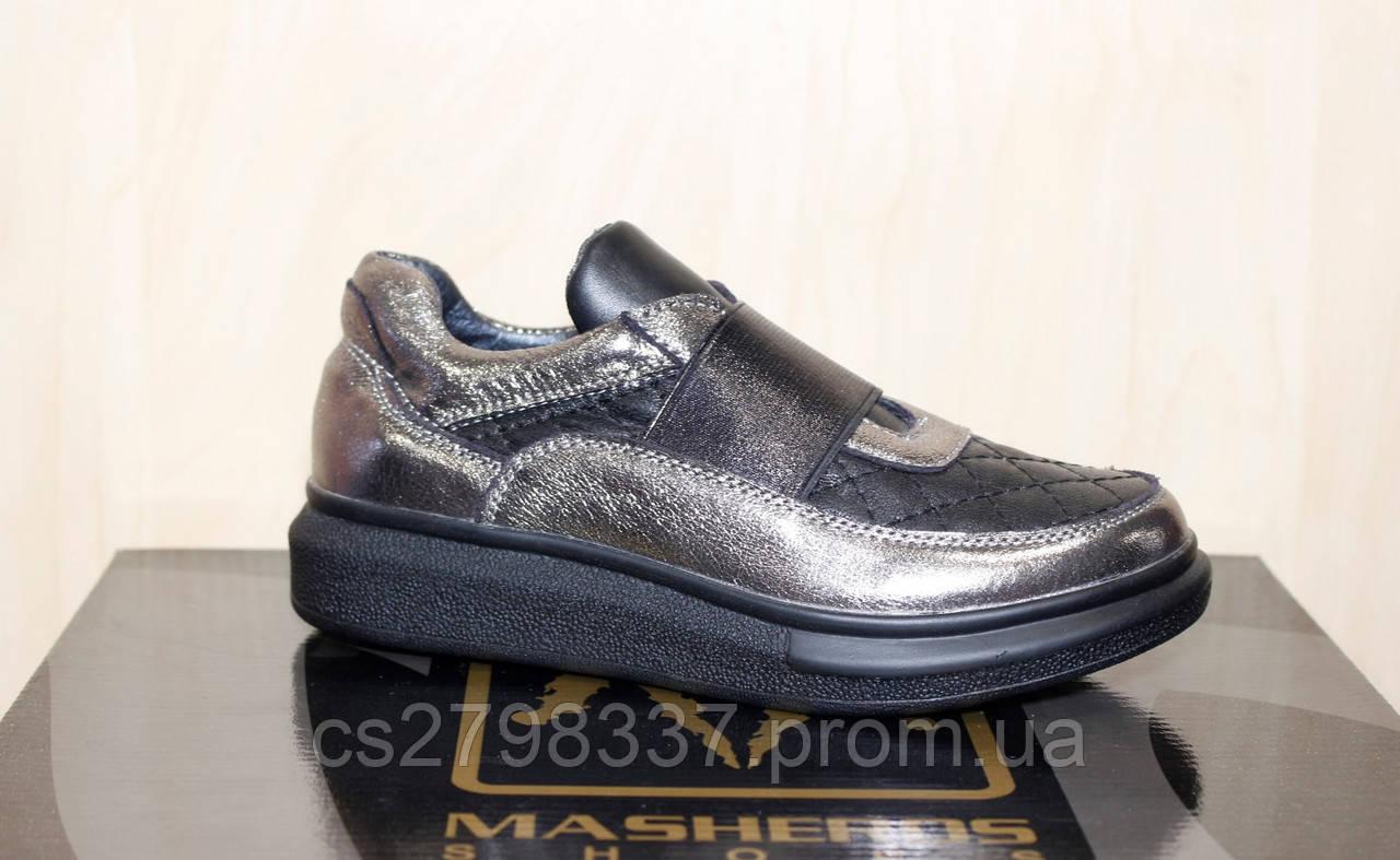 Туфлі шкіряні дівчачи весна-осінь  продажа 156b32b7f9e63
