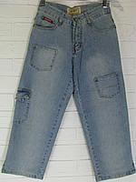 Капрі жіночі джинсові 1818.17 світло-сині 26
