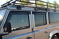 "Дефлекторы окон (ветровики) Land Rover Defender 110 1990-2007;2007""EuroStandard"" (Лэнд ровер дефендер) Cobra Tuning"